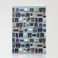 gamer Stationery Cards featuring Gamer by James Brunner