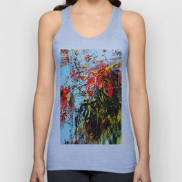 Floreal Abstraction Unisex Tank Top