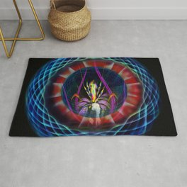 Abstract in Perfection - Flowermagic 5 Rug