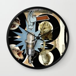 COLLAGE: Hit Wall Clock