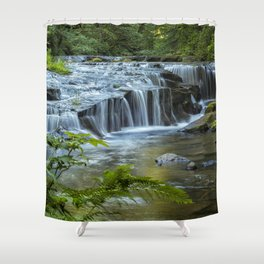 Ledge Falls, No. 4 Shower Curtain
