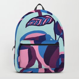manzanita, fall leaves blue Backpack