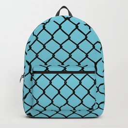 Chain Link Blue Backpack