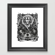 Witching Framed Art Print