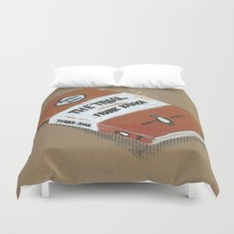 Diddie Doodle the Franz Kafka The Trail a Penguin Classic Duvet Cover