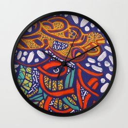 COLOR MY WORLD 6 Wall Clock