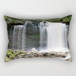 The Falls of Hills Creek Rectangular Pillow