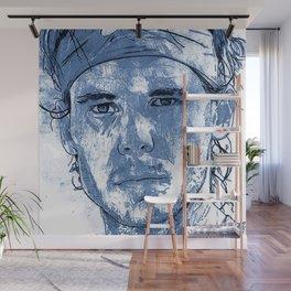Rafael Nadal Illustration Wall Mural