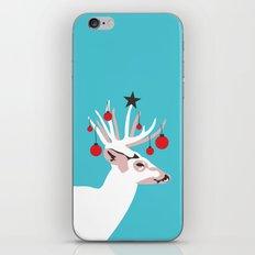 Deer with Cheer iPhone & iPod Skin