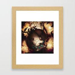 Batmoon Framed Art Print