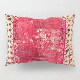 Ottoman  Antique Ushak Turkish Niche Kilim Pillow Sham
