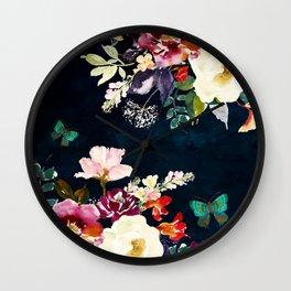 Summer Nights (Blue Passion) Wall Clock