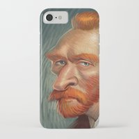 van iPhone & iPod Cases featuring van  by helpius