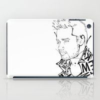 liam payne iPad Cases featuring Typographic Liam by Ashley R. Guillory
