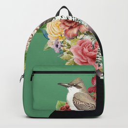 Lady with Birds(portrait) 2 Backpack