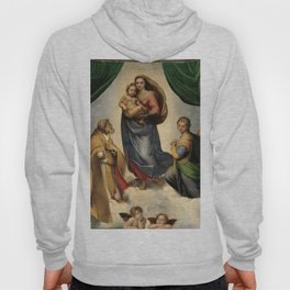 The Sistine Madonna Oil Painting by Raphael Hoody