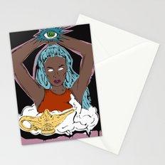 Genio En Una Botella Stationery Cards