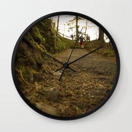 Caminos de Oregon Wall Clock