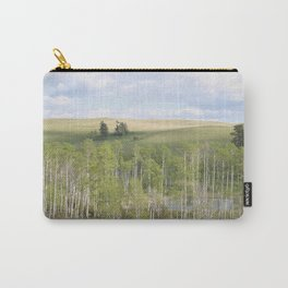 Lake and trees landscape Carry-All Pouch