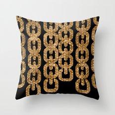 Fools Gold Throw Pillow
