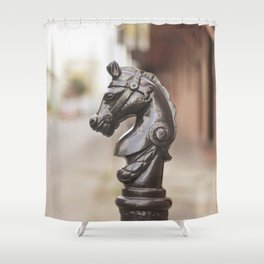 New Orleans Hitching Post #3 Shower Curtain