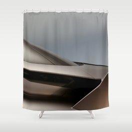 Z_side Shower Curtain