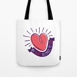 My Heart Belongs to God Tote Bag