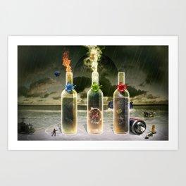 Three Flavors of Fate Art Print