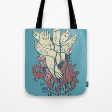 hands! print Tote Bag