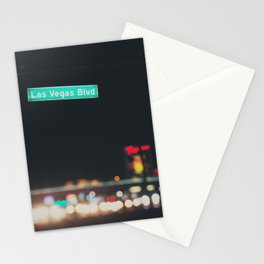 Las Vegas Boulevard ... Stationery Cards