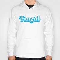 fangirl Hoodies featuring Fangirl by Aaron Synaptyx Fimister