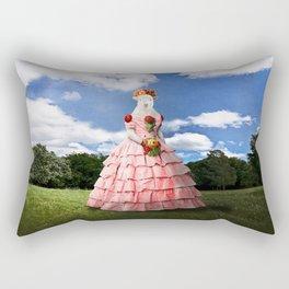 Semolina Sheep on Her Way to the Ball Rectangular Pillow
