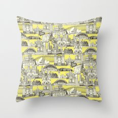AUSTRALIA toile de jouy Throw Pillow