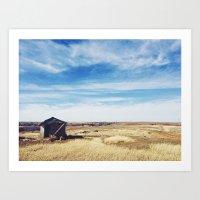 oklahoma Art Prints featuring Oklahoma  by Cynthia Mixon Photo