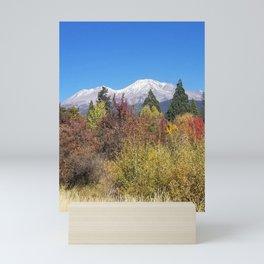 Shasta at Fall Mini Art Print