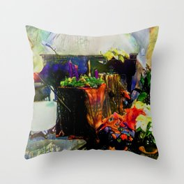Dreaming of Christmas and All That Jazz Throw Pillow