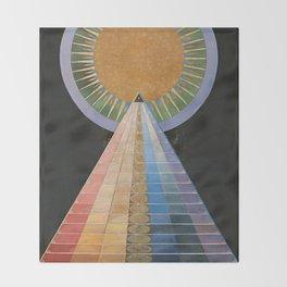 Altarpiece No. 1 Group X Hilma Af Klint 1915 Throw Blanket