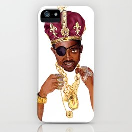 Slick Rick iPhone Case