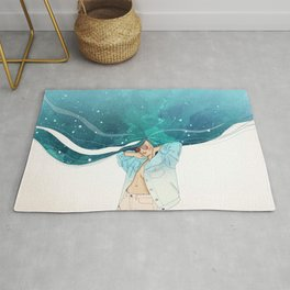 The Universe in Me Rug