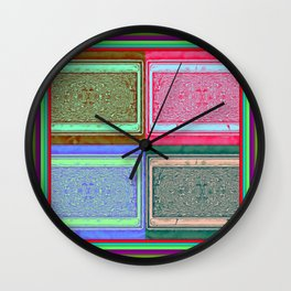 Retro brightness No'18 Wall Clock