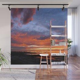 Stunning Seaside Sunset Wall Mural