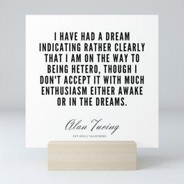 8    | Alan Turing Quotes  | 190716 | Mini Art Print