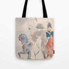 Henri de Toulouse-Lautrec Napoleon Tote Bag