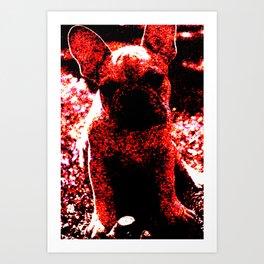 French Bulldog Art Art Print