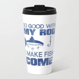 I MAKE FISH COME Travel Mug