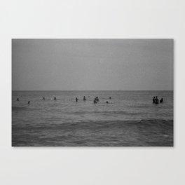 French Ocean Canvas Print