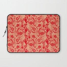 motif red flower 5 Laptop Sleeve