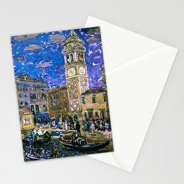 "Maurice Prendergast ""Santa Maria Formosa Venice"" Stationery Cards"