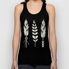 Gypsy Feathers Unisex Tank Top