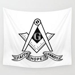 Freemasonry symbol Wall Tapestry